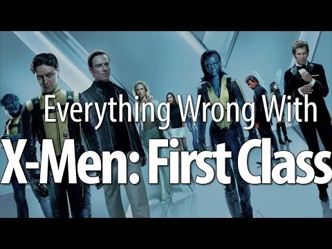 Everything Wrong With X-Men: First Class In 8 Minutes Or Less poster
