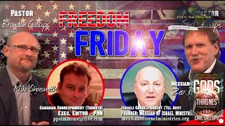 Messianic Rabbi Zev Porat on Freedom Friday with Carl Gallups