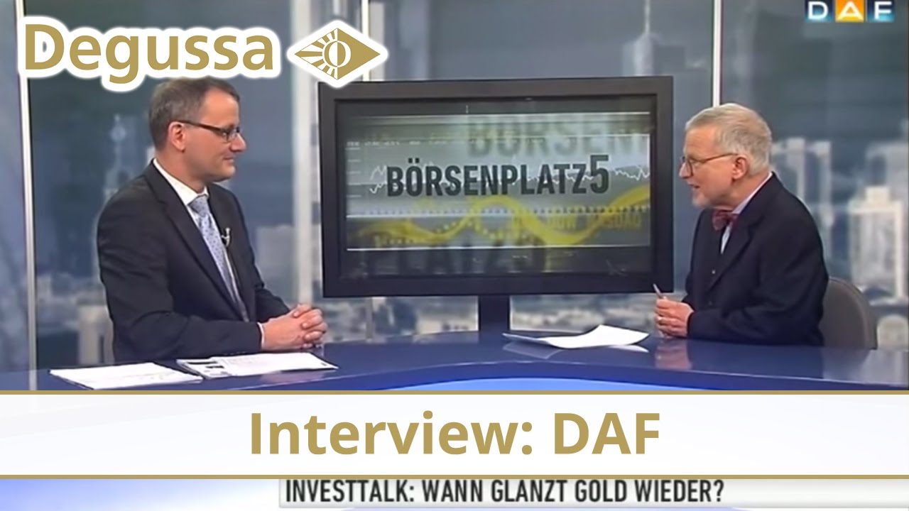 Wolfgang Wrzesniok-Roßbach zu Gast beim Deutschen Anleger-Fernsehen