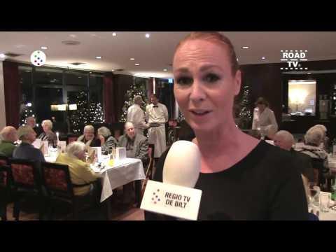Kerstdiner ouderen De Bilt 2016 ROADTV.nl