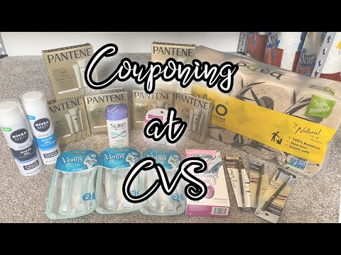 Coupon Haul At CVS | $120 In Products For Under $15!