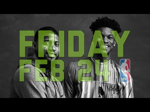 NBA Daily Show: Feb. 24 - The Starters