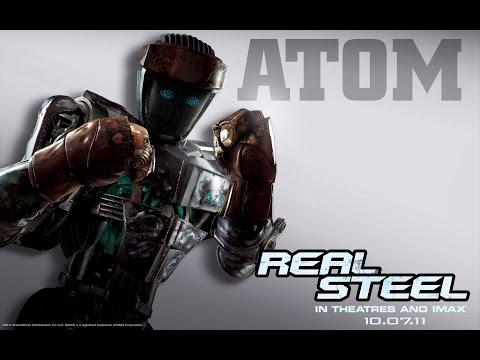Живая сталь(Real steel)-Атом против всех