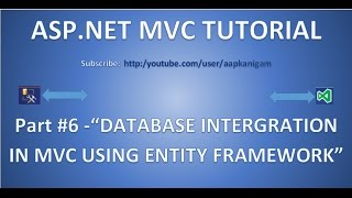 Gambar cover ASP.NET MVC  Database Connection Using Entity Framework | Connect to SQL Server database - Part 6