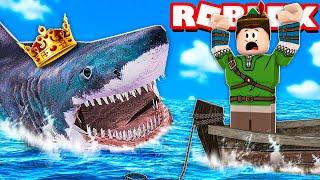 MEU AMIGO VIROU UM TUBARÃO E ME DEVOROU NO ROBLOX!! (SharkBite)