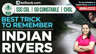 Best Trick to Remember All Indian Rivers & Their Tributaries | Very Important for RRB, SSC & Bank