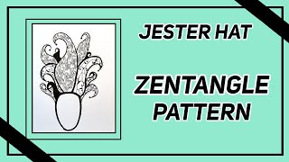 Easy Zentangle Pattern for Beginners
