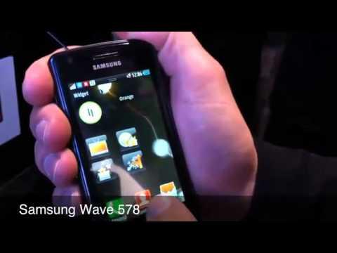 Demo NFC pada Samsung Wave 578