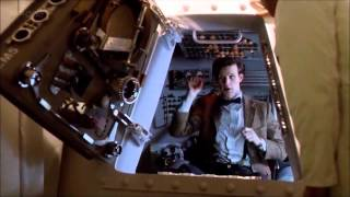 Doctor Who Funny Moments from The Impossible Astronaut and Day of the Moon