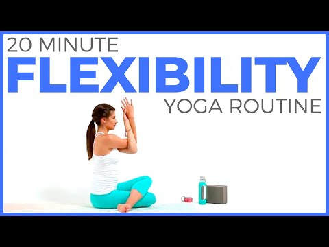 20 Minute Yoga for Flexibility Routine  (All Levels)