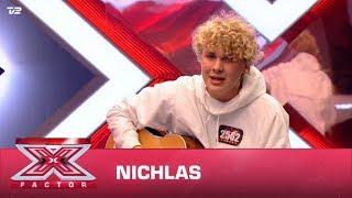 Nichlas synger egen sang (Audition)   X Factor 2020   TV 2
