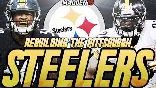 Rebuilding The Pittsburgh Steelers | Madden 18 Connected Franchise Rebuild | Overtime Super Bowl! 2017 Video