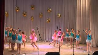 """Художетсвенная гимнастика """"Грация"""" г. Челябинск девочки 5 -6 лет"""