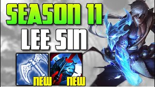 SEASON 11 LEE SÏN IS HERE! THE NEW ITEMS WILL CHANGE EVERYTHING! (MYTHICS??) - League of Legends