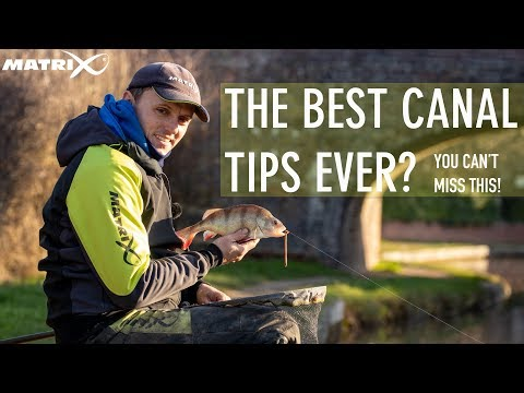*** Coarse & Match Fishing TV *** Lee Wrights Top Tips For Canals