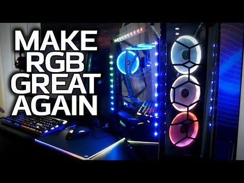 Corsair's SYNC IT: Best RGB Implementation EVER? (Also Slate & Curve Concept Cases!)