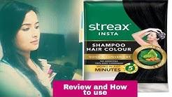 STREAX INSTA SHAMPOO HAIR COLOUR REVIEW & HOW To USE