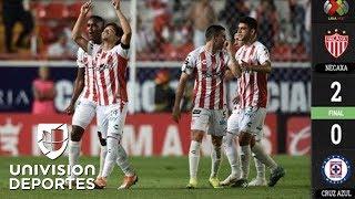 Necaxa 2-0 Cruz Azul – GOLES Y RESUMEN - Jornada 9 Apertura 2018 Liga MX