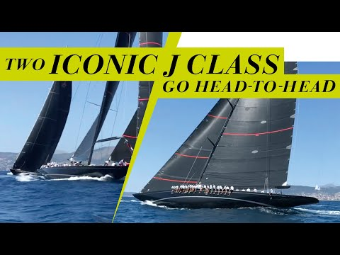 Head To Head Between J Class Yachts Svea And Velsheda  | Yachting World