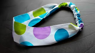 Very very simple and easy Hair band making easy Head band making at home
