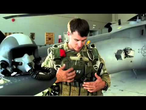 Air Force PJ Equipment For A HALO Jump