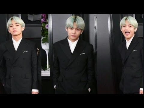 BTS V Become Viral as The Guy With Green Hair During the 2019 Grammy Awards Mp3