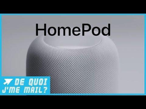 Apple Homepod : bon son mais SIRI à la traîne ?  DQJMM (1/2)