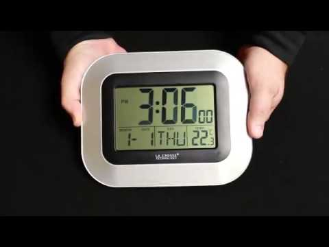 WT-8005U Atomic Digital Wall Clock