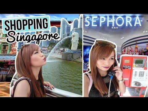 Vlog : SHOPPING IN SINGAPORE! (SG EP. 4)