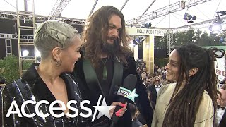Jason Momoa Calls Lisa Bonet 'my Love' During Interview