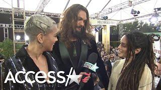 Jason Momoa Calls <b>Lisa Bonet</b> 'My Love' During Interview