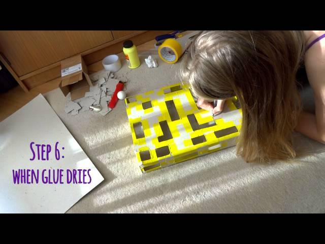 Interactive cat puzzle box DIY