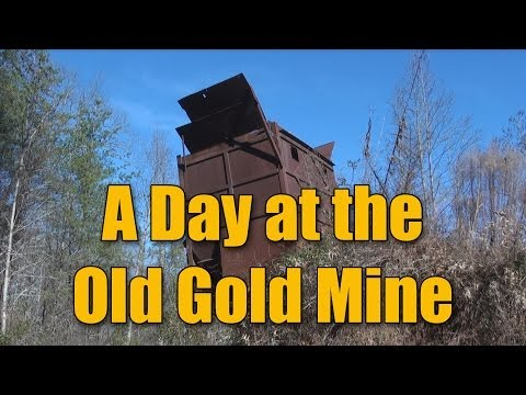 Gold And Gem Hunting - Plus A Tour Of The Old Mine