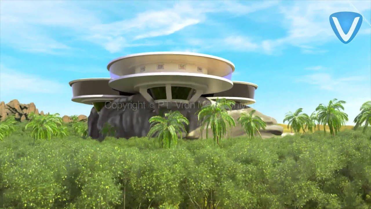 Tony Stark Aka Iron Man 39 S House Concept Design By Vron