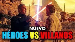 JUGANDO el NUEVO HÉROES VS VILLANOS !! STAR WARS BATTLEFRONT 2