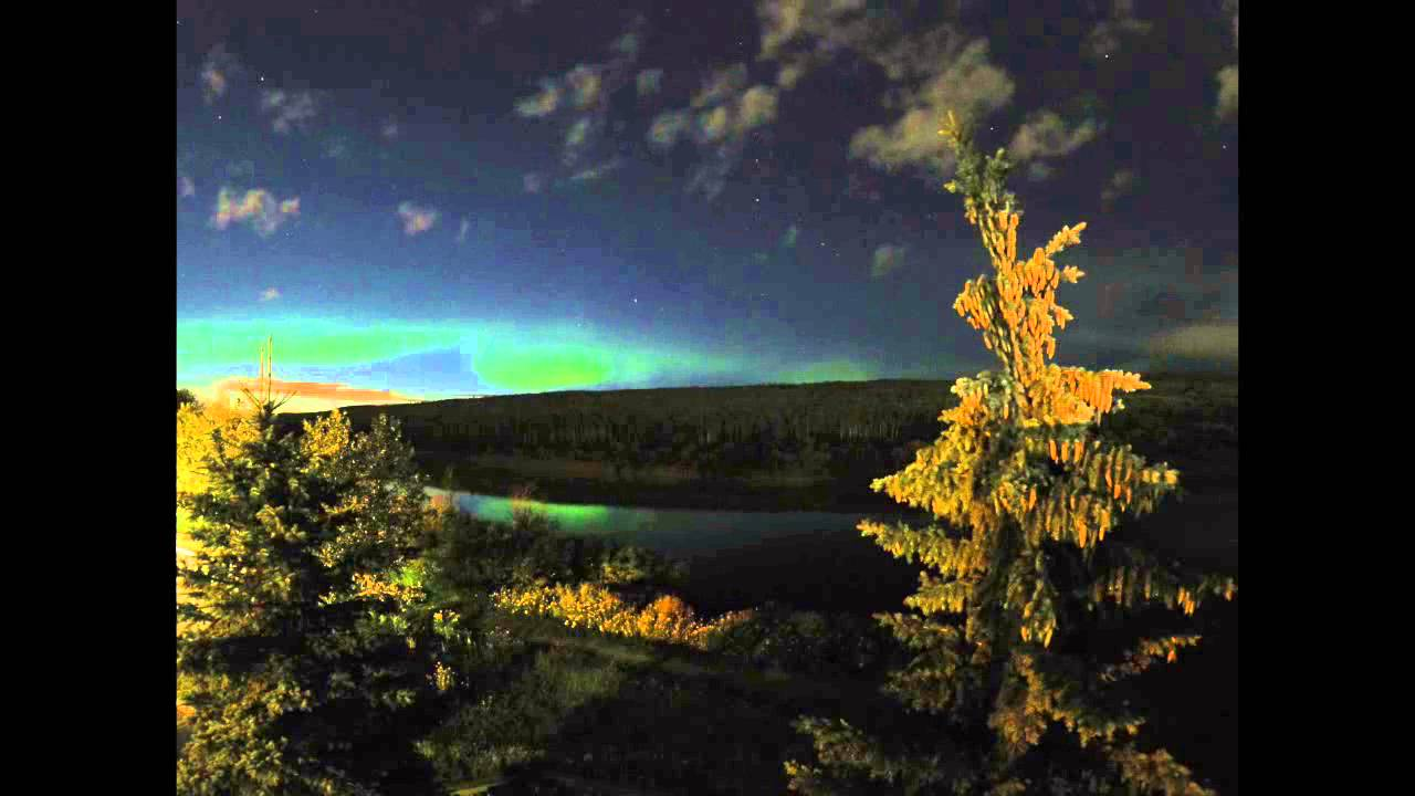 Fort McMurray (AB) Canada  City pictures : Northern Lights, Fort McMurray. AB, Canada YouTube