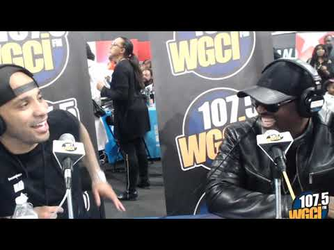 Tone Kapone - Tone Kapone is LIVE with Johnny Gill