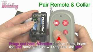 00182-pttte254nnnnnn.mp4 Dog Remote Training Collar Anti Bark Stop Vibration Type