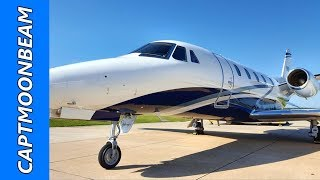 We Fly back to the Eagle Vail airport in Colorado to pickup the Ces...