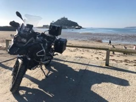 Back To Black - 2018 BMW R1200 GS Adventure, 2000 Mile Review & Cornwall Trip