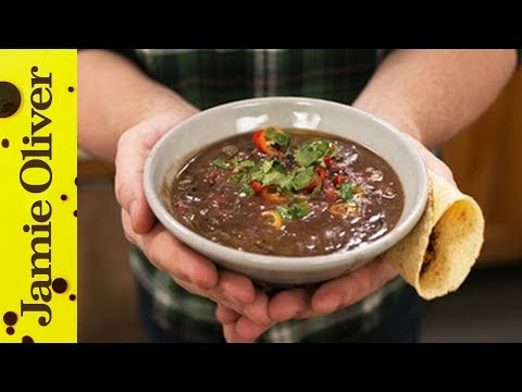 Healthy Black Bean Soup Recipe