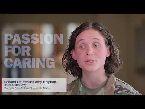 Military Health System Celebrates 2018 National Nurses Week | 2LT Amy Holpuch