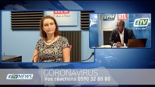 ÉDITION SPÉCIALE CORONAVIRUS - 26 MARS 2020 - PARTIE 2 -VALERIE DENUX Directrice ARS Guadeloupe