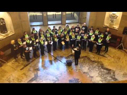 MPC's First Xmas Choir At The ROM, Singing Together We Are One