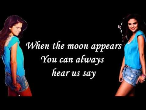 When The Sun Goes Down-Selena Gomez & The Scene (Lyrics On Screen)