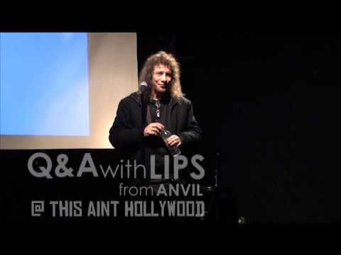 Q&A with Lips from Anvil pt.4 - Movie & Sacha Gervasi