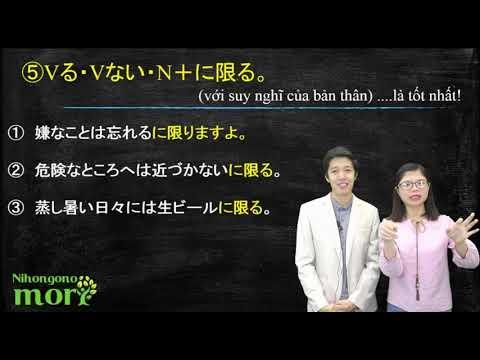 Tổng hợp ngữ pháp N2 trong 4 tiếng 4 phút - nghe đã tai xem đã mắt. - dungmori.com