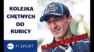 Robert Kubica może przebierać w ofertach. Heroizm dostrzeżony nie tylko przez F1