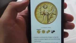 UNBOXING of 2015 American Liberty High Relief Gold Coins