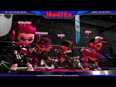 Splatoon 2 - Private Match with Nintendo Prime